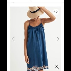 Nwt madewell embroidered dress